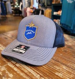 Gruene Hall Blue Lonestar Patch Cap