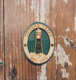 Wooden Water Tower Magnet