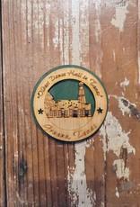 Wooden Gruene Hall Magnet