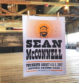 Sean McConnell Poster