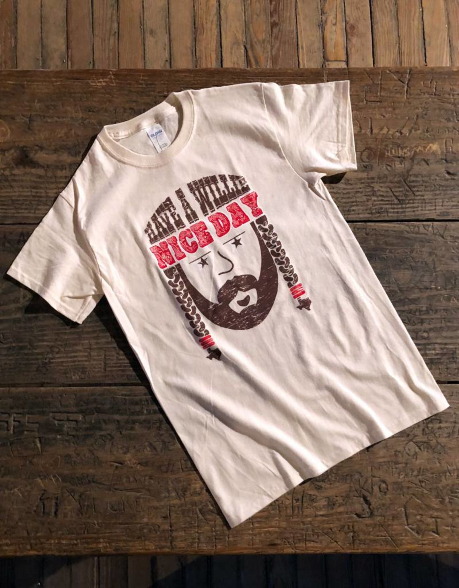 """""""Have a Willie Nice Day"""" Adult Tee"""