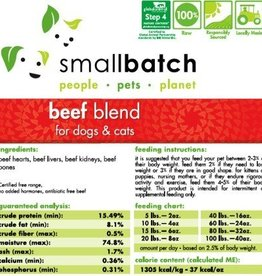 Smallbatch Smallbatch Beef Blend 2lb