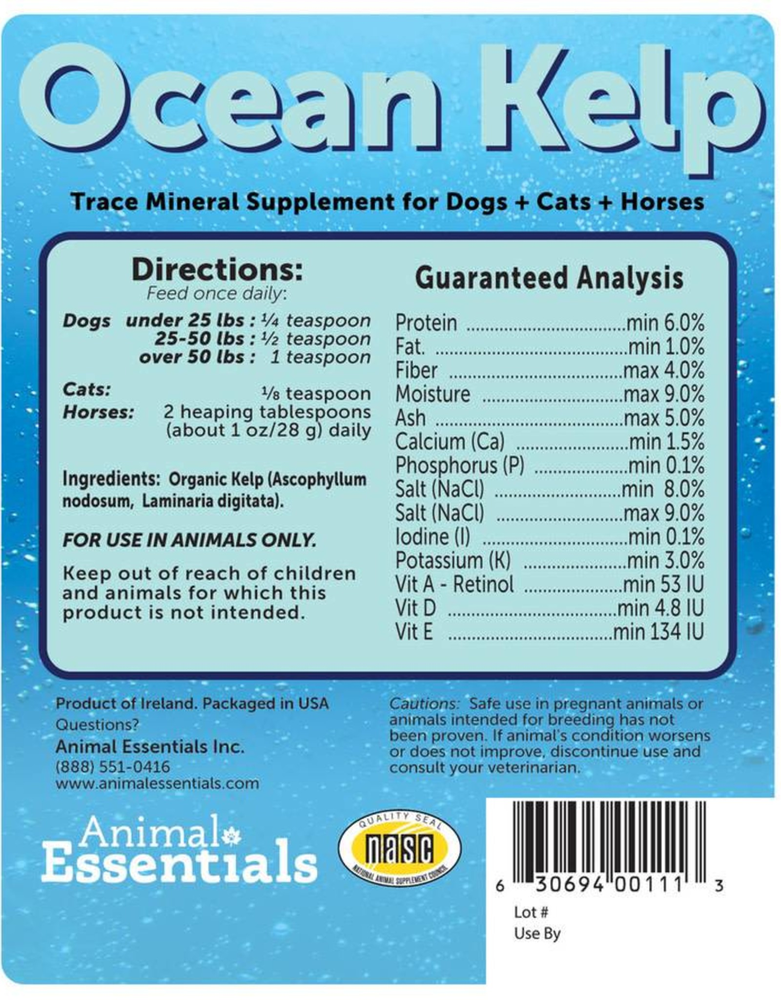 Animal Essentials Animal Essentials Ocean Kelp 8oz