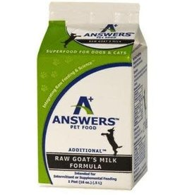 Answers Answers Raw Goat Milk