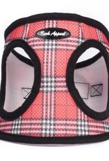 Bark Appeal Bark Appeal Step-In Mesh Harness Plaid