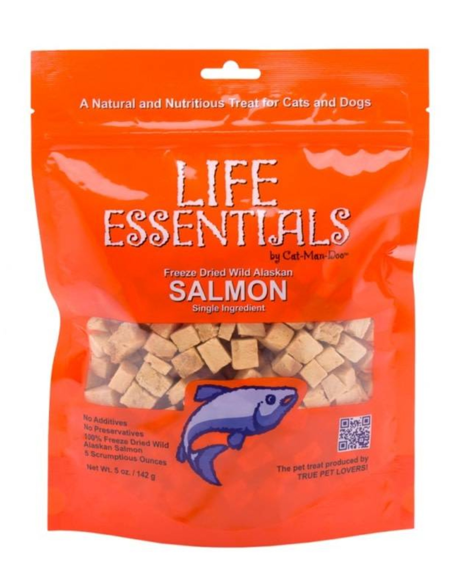 Cat-Man-Doo Life Essentials Freeze Dried Salmon