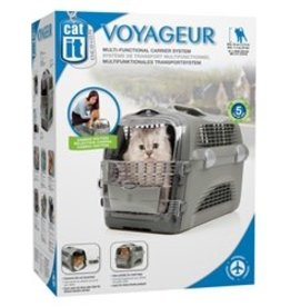 Hagen Catit Design Voyageur Pet Carrier, Grey