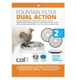 Hagen Catit Fresh & Clear Replacement Filters 2 Pack