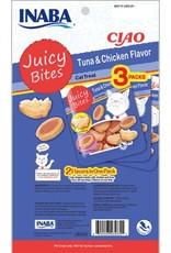 Inaba Ciao Cat Treats Ciao Cat Juicy Bites Tuna & Chicken Flavor Treat