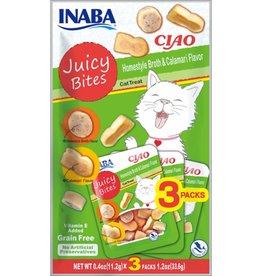 Inaba Ciao Cat Treats SALE - Ciao Cat Juicy Bites Homestyle & Calamari Flavor Treat