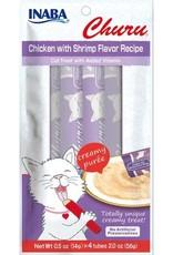 Inaba Ciao Cat Treats Ciao Churu Chicken with Shrimp Flavor Recipe