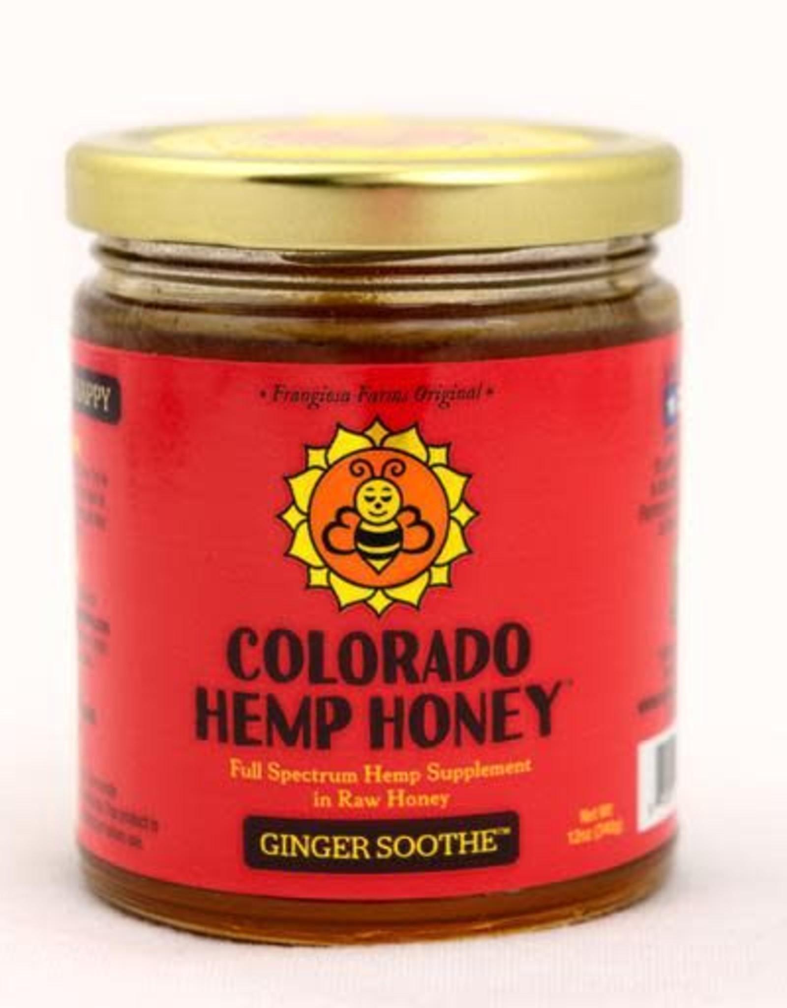 Colorado Hemp Honey Colorado Hemp Honey Ginger Soothe 6oz Jar