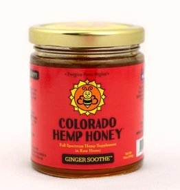 Colorado Hemp Honey Colorado Hemp Honey Ginger Soothe 6oz Jar