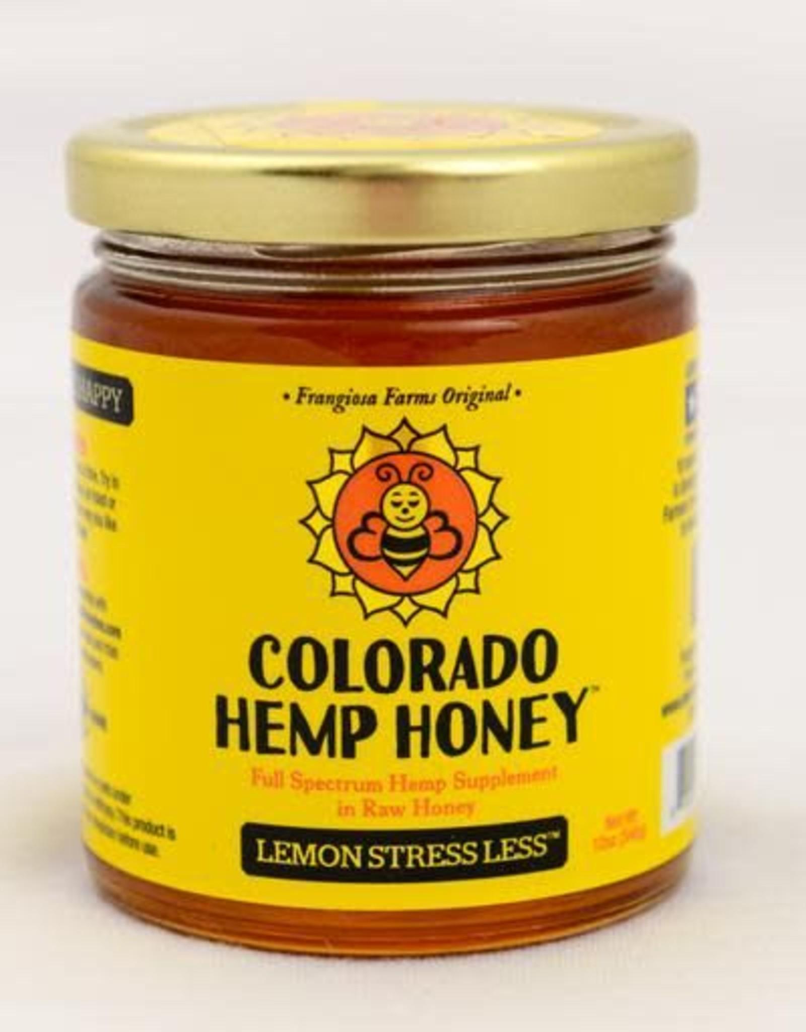 Colorado Hemp Honey Colorado Hemp Honey Lemon Stress Less 6oz Jar