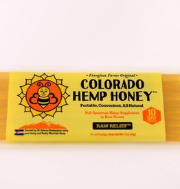 Colorado Hemp Honey Colorado Hemp Honey Raw Relief Stix