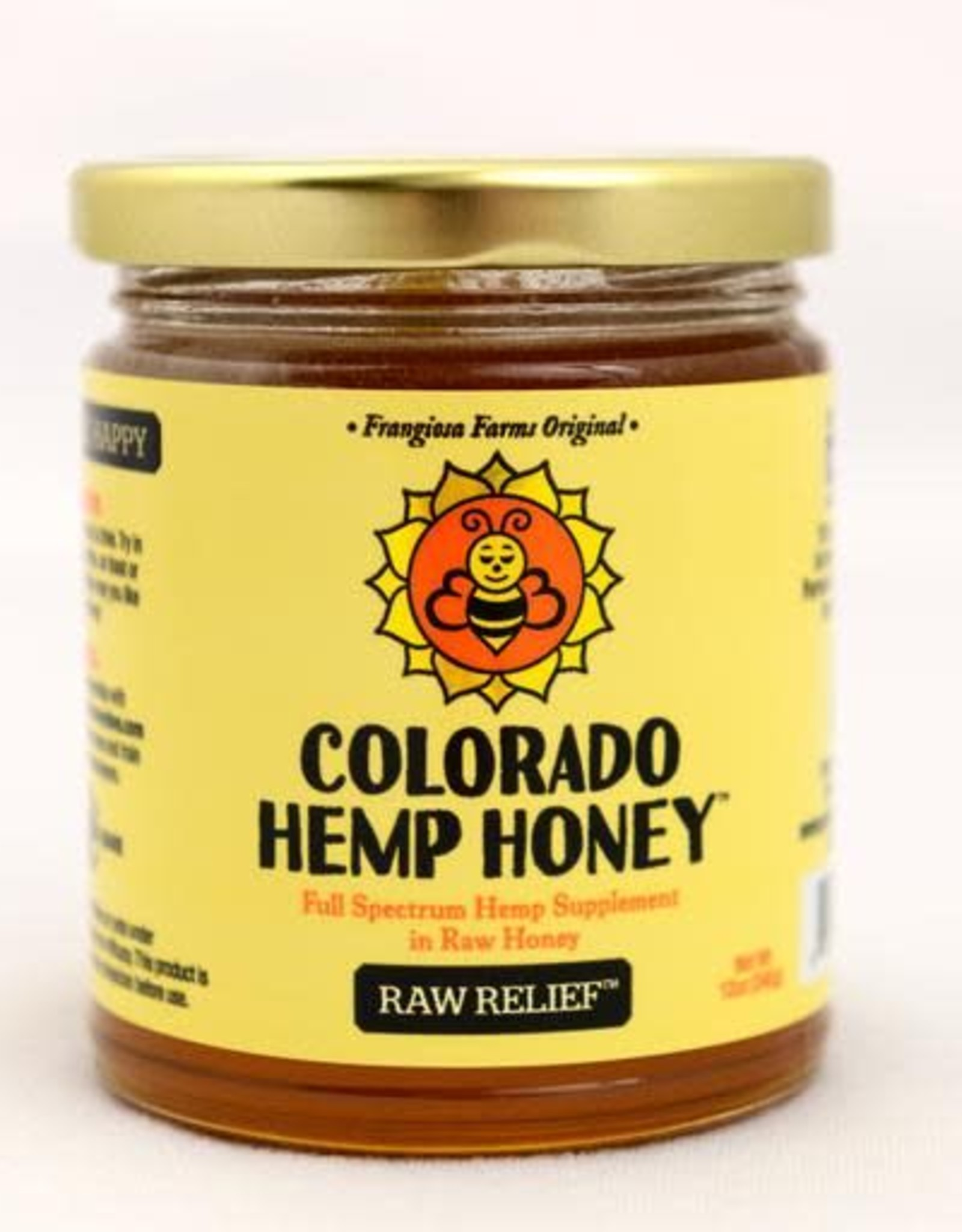 Colorado Hemp Honey Colorado Hemp Honey Raw Relief 6oz Jar