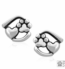 Dazzling Paws Jewelry Dazzling Close To My Heart Post Earrings 2207