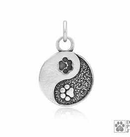 Dazzling Paws Jewelry Dazzling Yin & Yang Necklace 102