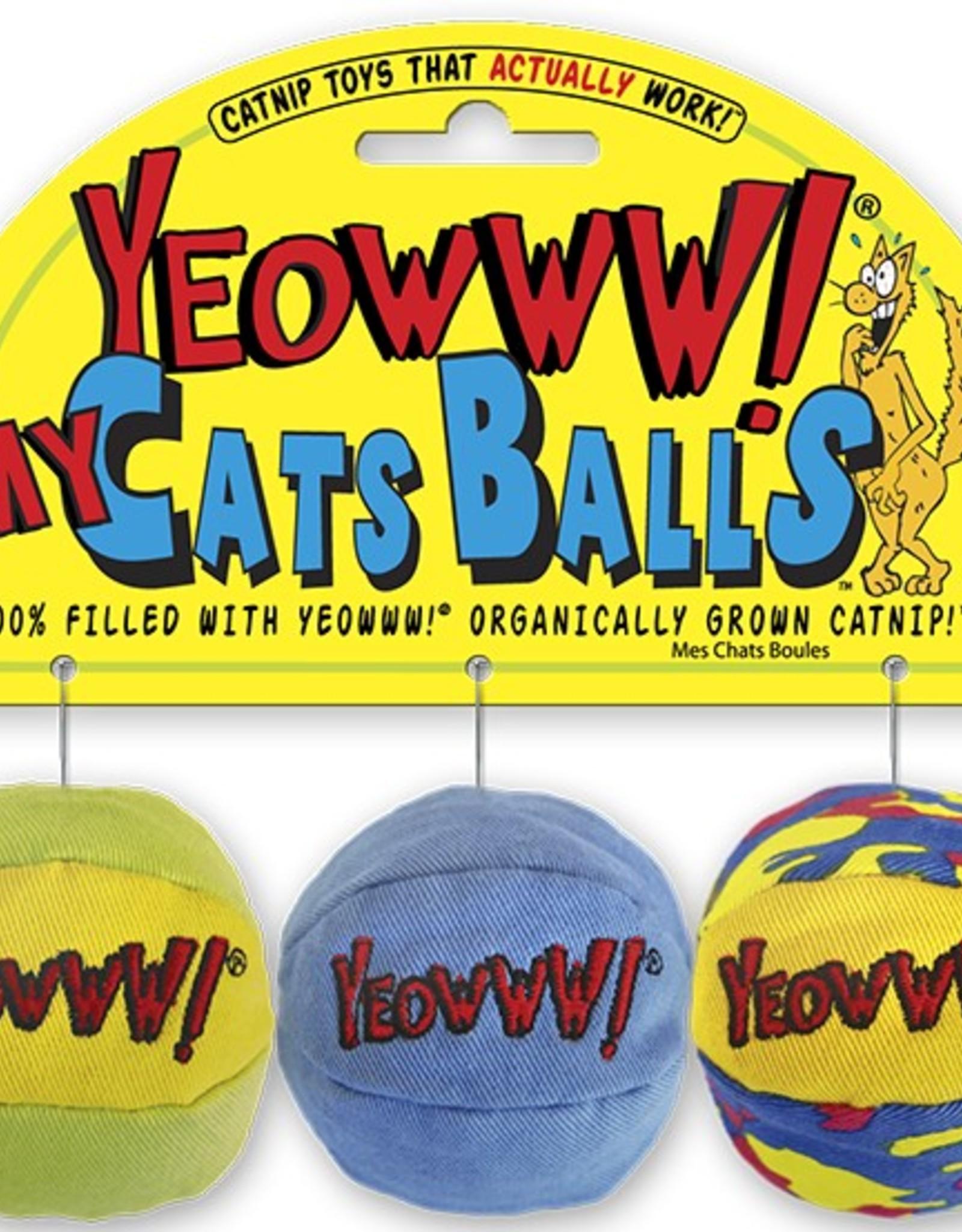 Ducky World Yeowww! My Cats Balls
