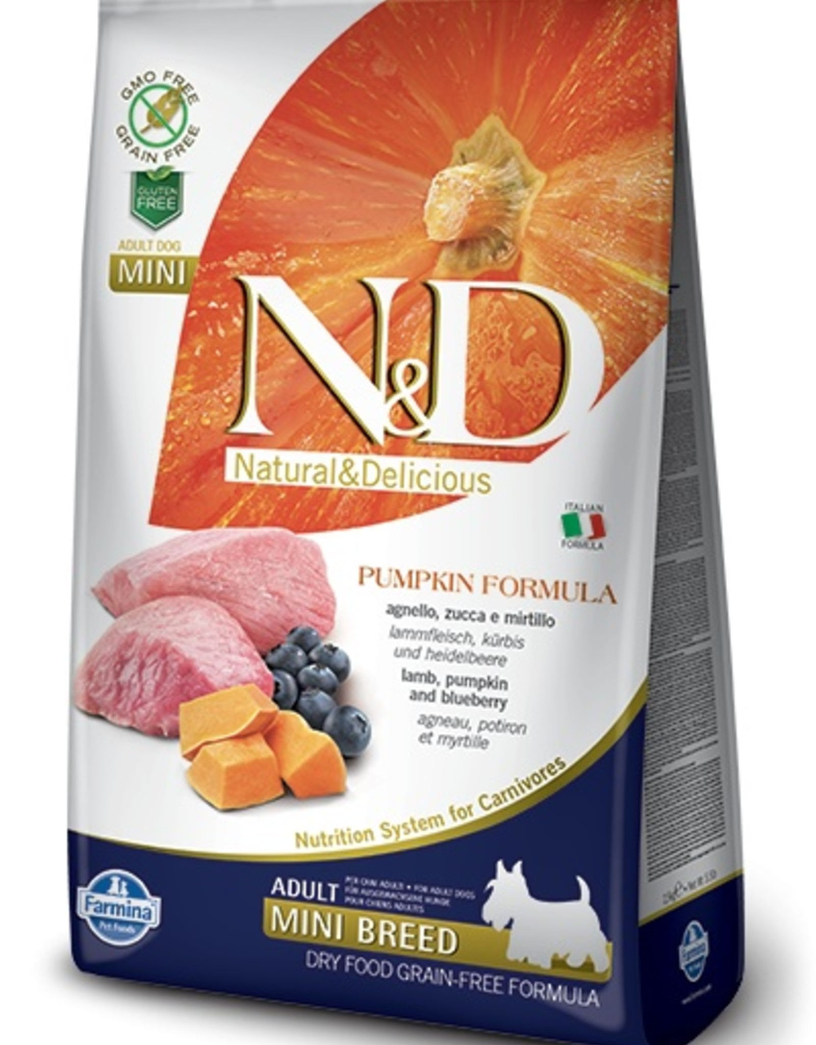 Farmina Farmina N&D Pumpkin Formula - Lamb & Blueberry Adult
