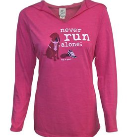 Dog Is Good Dog Is Good Never Run Alone Women's Tunic