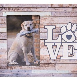Dog Speak Dog Speak Vertical Frame - LOVE