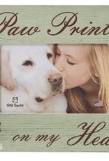 Dog Speak Dog Speak Frame - Paw Prints on My Heart