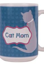 Dog Speak Dog Speak Big Coffee Mug 15oz - Cat Mom