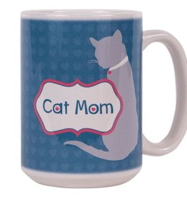 Dog Speak Dog Speak Big Coffee Mug 15oz - Cat Mom