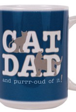 Dog Speak Dog Speak Big Coffee Mug 15oz - Cat Dad