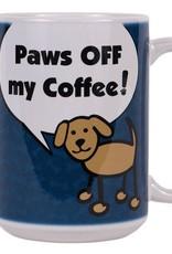 Dog Speak Dog Speak Big Coffee Mug 15oz - Paws Off My Coffee!