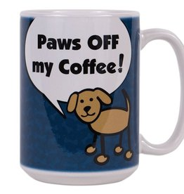 Dog Speak Dog Speak Big Coffee Mug 15oz - Paws Off My Coffee!