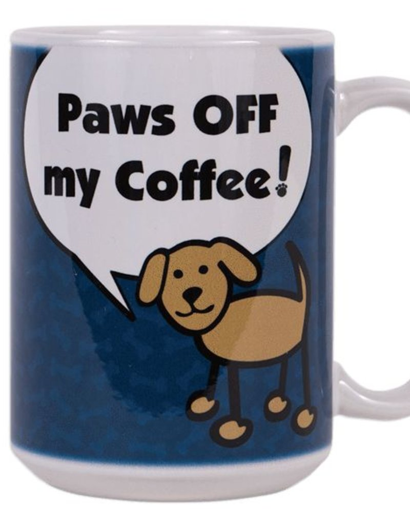 Off Coffee Dog 15oz My Paws Big Coffee Mug Speak OkTZiuPX