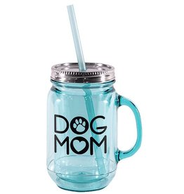 Dog Speak Dog Speak Mason Jar 20oz - Dog Mom