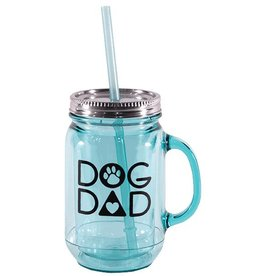 Dog Speak Dog Speak Mason Jar 20oz - Dog Dad