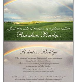Dog Speak Dog Speak Card - Sympathy - Rainbow Bridge