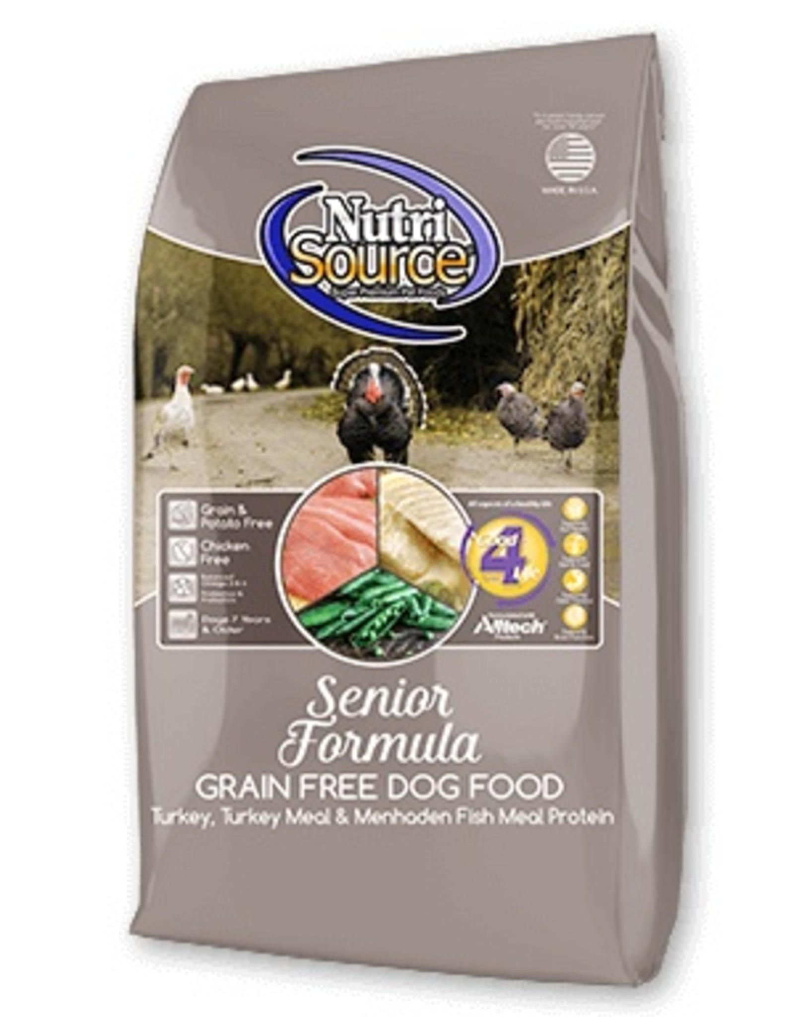 NutriSource NutriSource Grain Free Senior Formula Dog