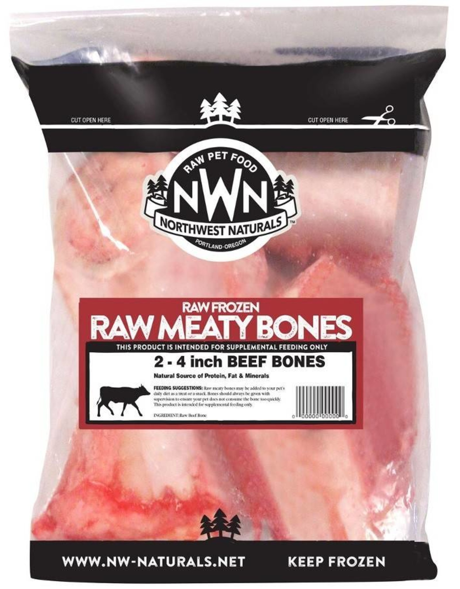 Northwest Naturals Northwest Naturals Raw Beef Marrow Bones