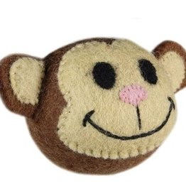 RC Pet Products RC Wooly Wonkz Safari Toy Monkey