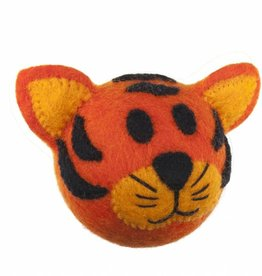 RC Pet Products RC Wooly Wonkz Safari Toy Tiger
