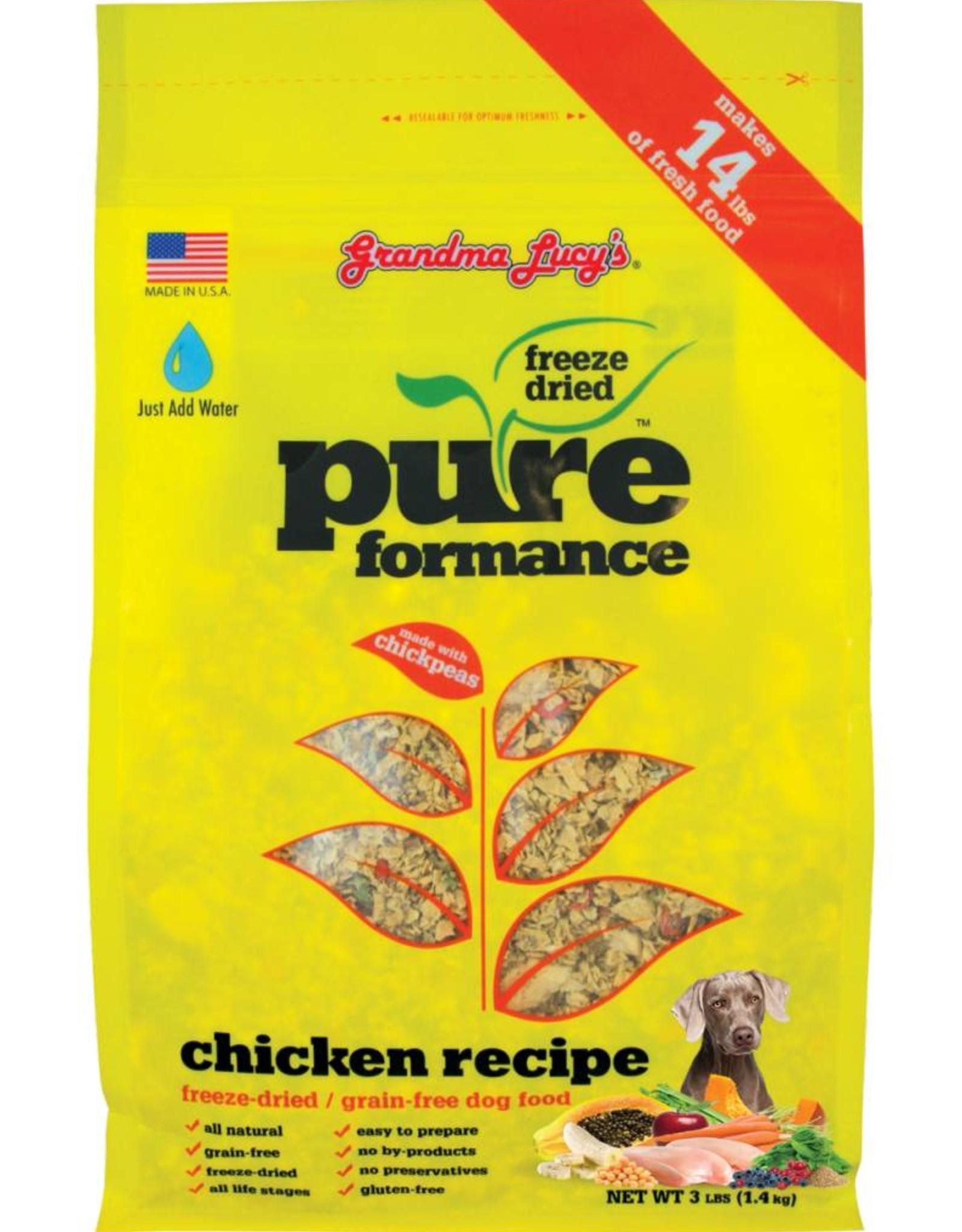 Grandma Lucy's Grandma Lucy's Pureformance Chicken Formula