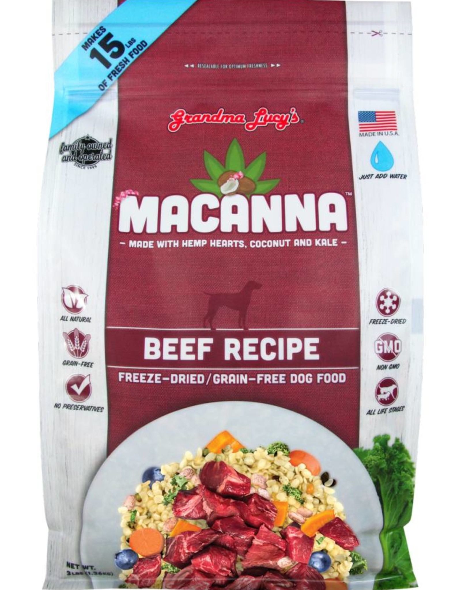 Grandma Lucy's Grandma Lucy's Macanna Beef Formula