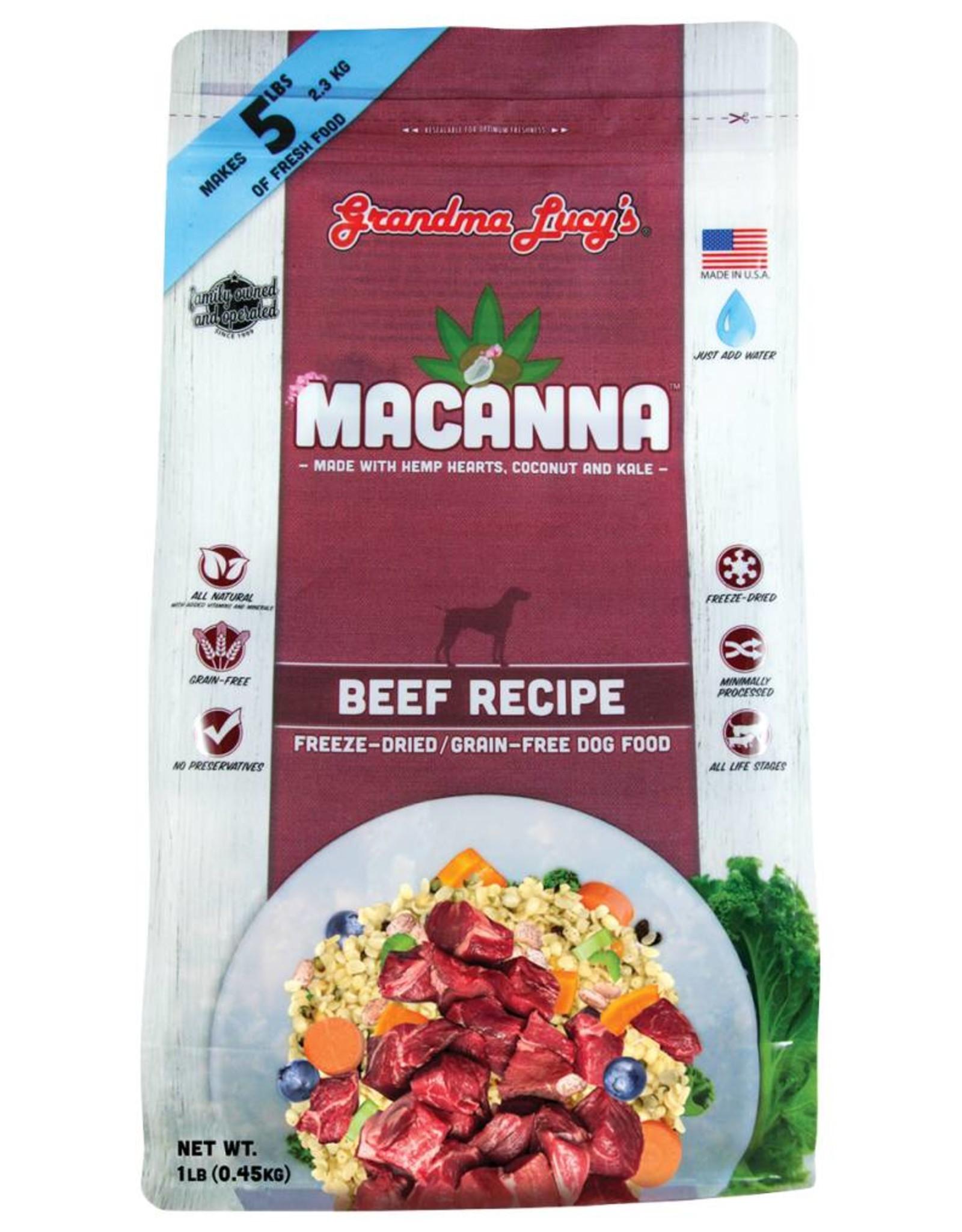 Grandma Lucy's SALE - Grandma Lucy's Macanna Beef Formula