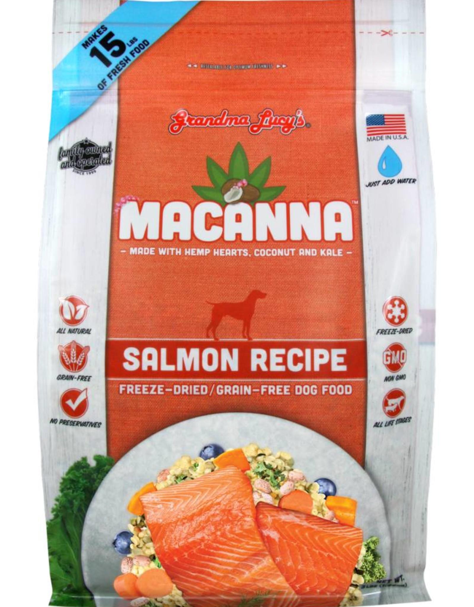 Grandma Lucy's Grandma Lucy's Macanna Salmon Formula