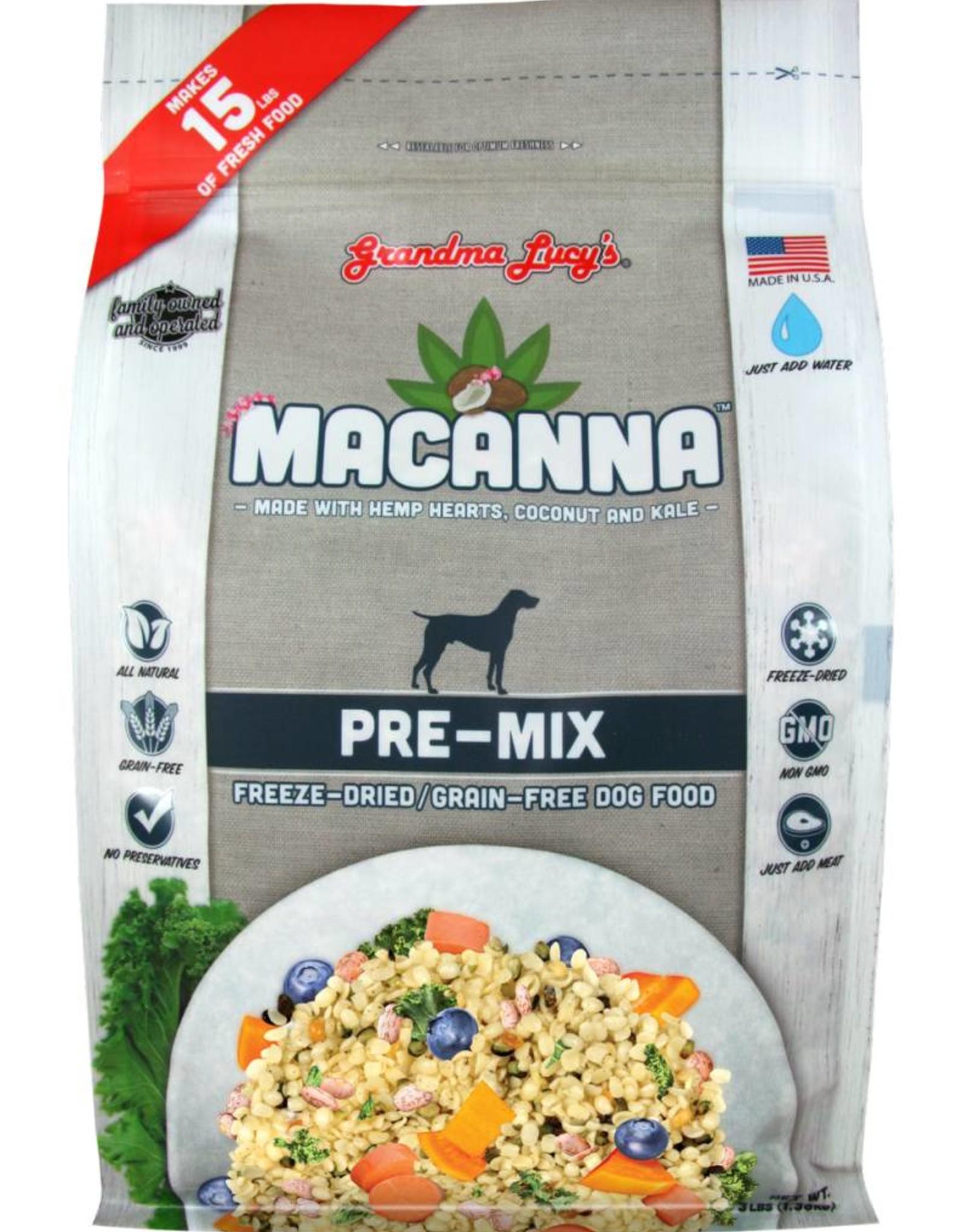 Grandma Lucy's Grandma Lucy's Macanna Pre-Mix Formula 3lb