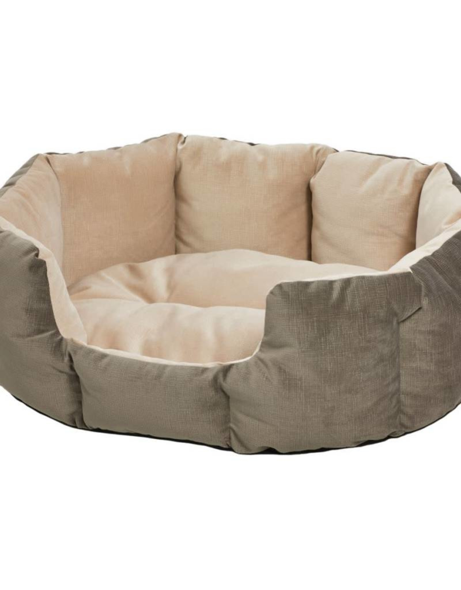 MidWest Homes for Pets Midwest Quiet Time Deluxe Gray Tulip Bed