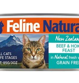 K9 Natural Feline Natural Beef & Hoki Feast Cans