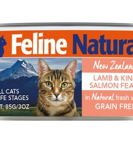 K9 Natural Feline Natural Lamb & King Salmon Feast Cans