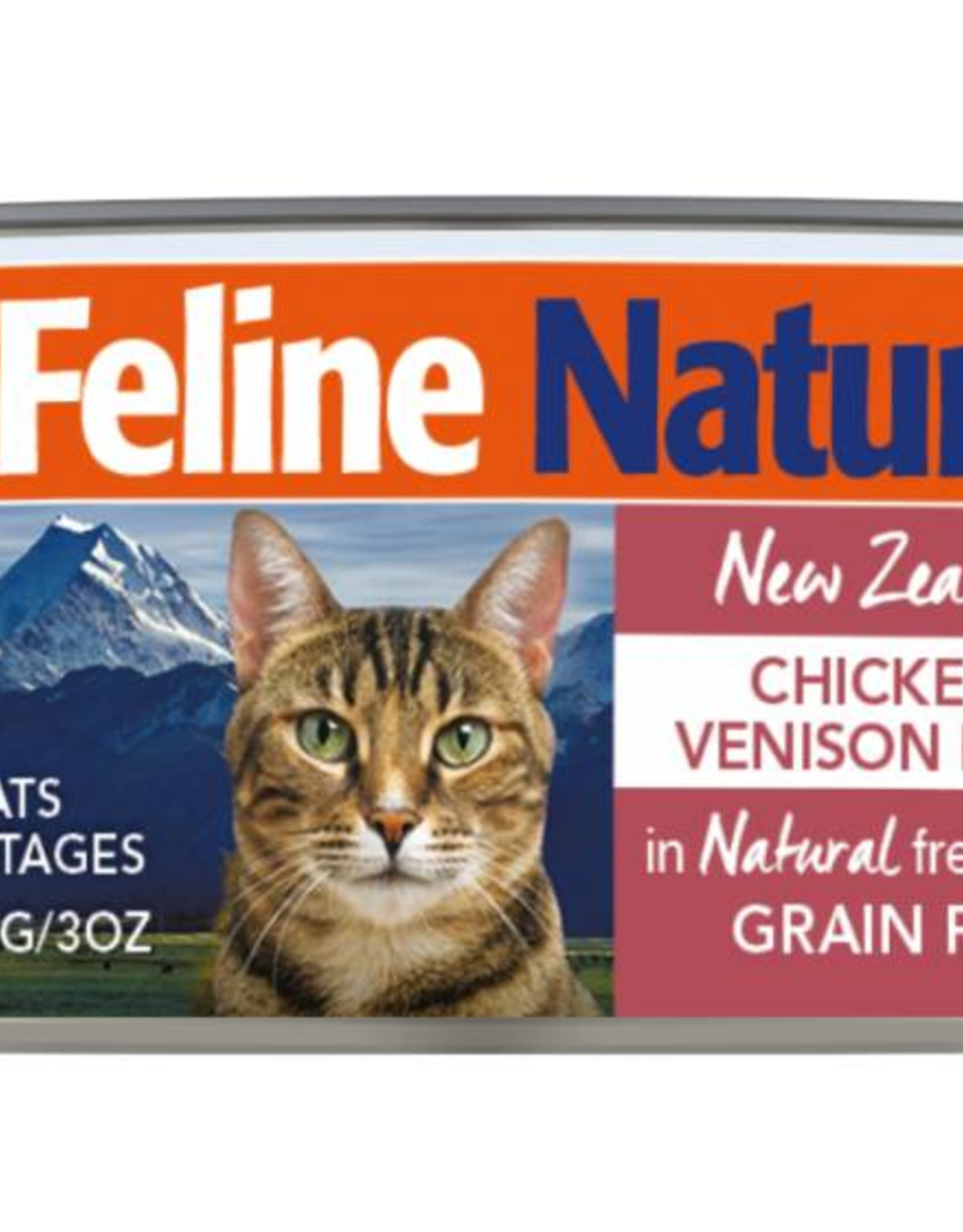 K9 Natural Feline Natural Chicken & Venison Feast Cans