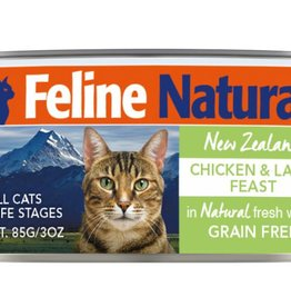 K9 Natural Feline Natural Chicken & Lamb Feast Cans